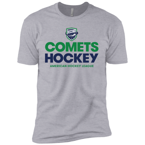 Utica Comets Hockey Adult Next Level Premium Short Sleeve T-Shirt