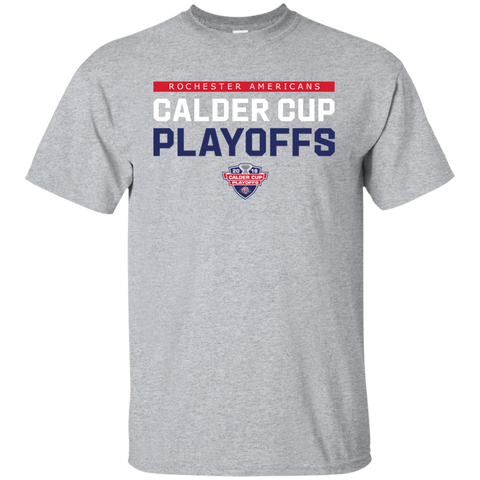 Rochester Americans Youth 2018 Postseason Cotton T-Shirt