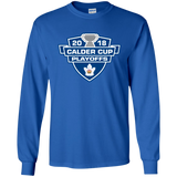 Toronto Marlies 2018 Calder Cup Playoffs Youth Long Sleeve T-Shirt
