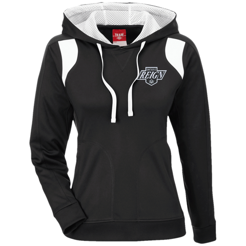 Ontario Reign Team 365 Ladies' Colorblock Poly Hoodie