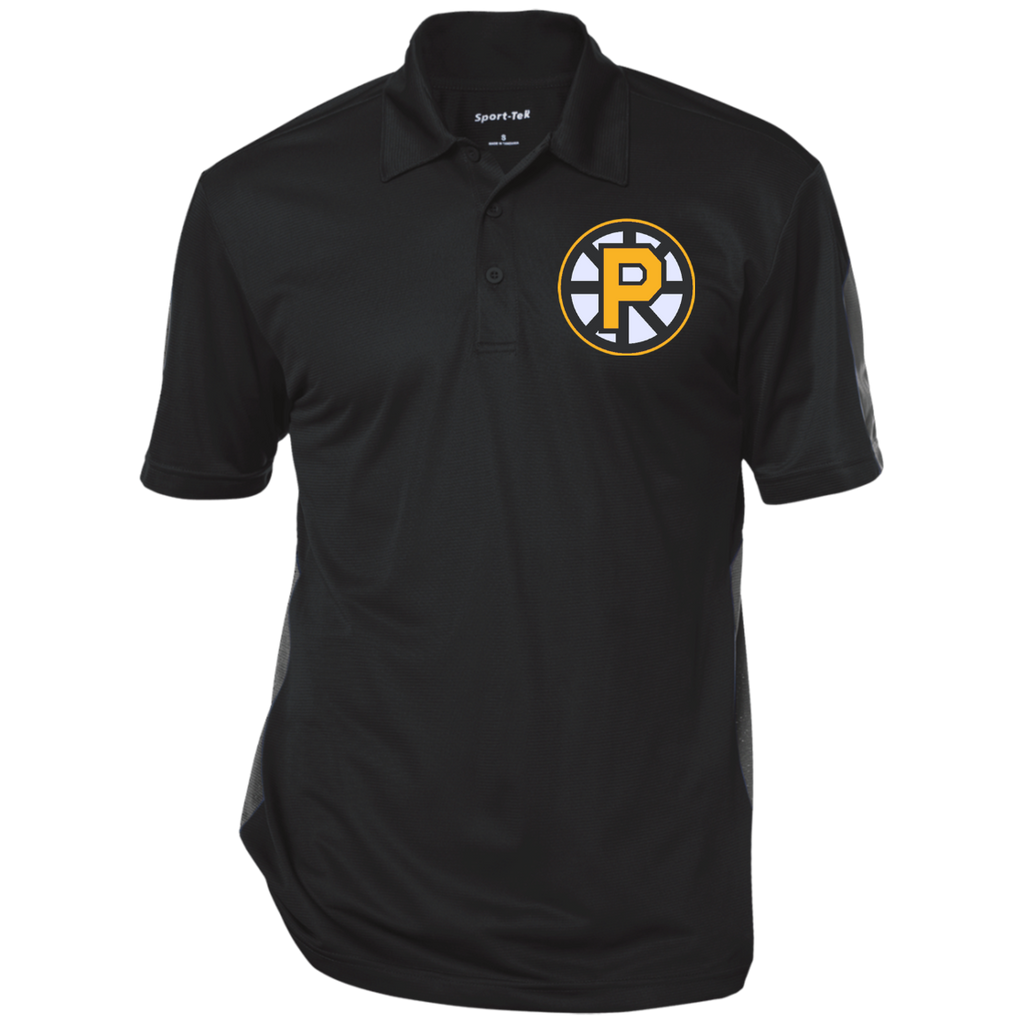 Providence Bruins Performance Textured Three-Button Polo