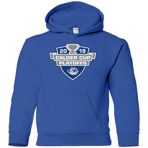 Syracuse Crunch 2019 Calder Cup Playoffs Youth Pullover Hoodie