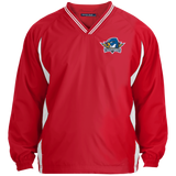 Springfield Thunderbirds Tipped V-Neck Windshirt