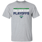 Utica Comets Adult 2018 Postseason Cotton T-Shirt