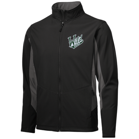 Iowa Wild Adult Colorblock Soft Shell Jacket