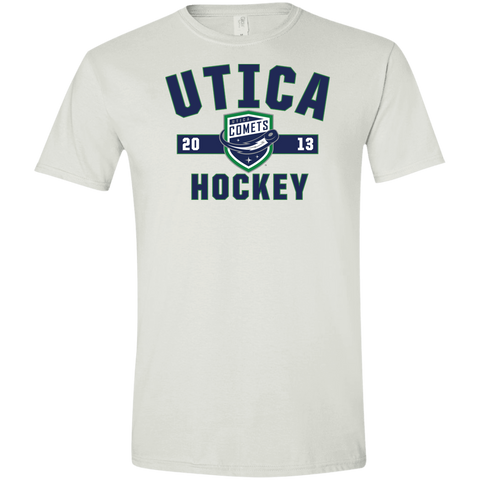 Utica Comets Adult Established Softstyle T-Shirt