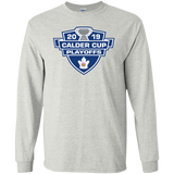 Toronto Marlies 2019 Calder Cup Playoffs Adult Long Sleeve Cotton T-Shirt