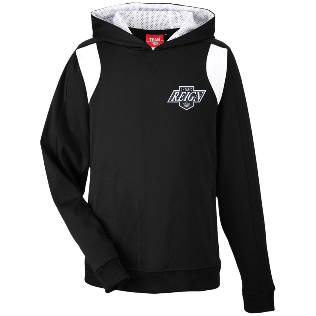 Ontario Reign Team 365 Youth Colorblock Poly Hoodie