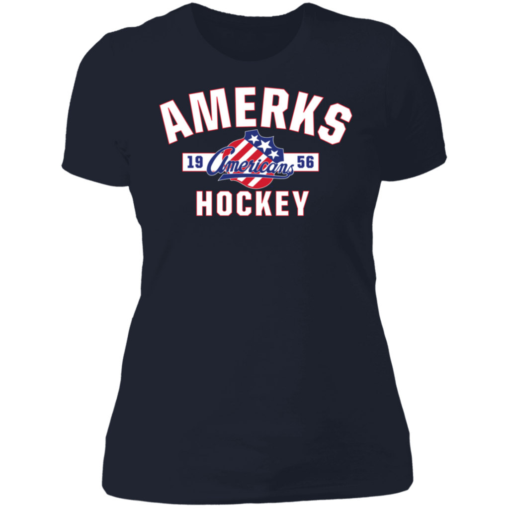 Rochester Americans Established Next Level Ladies' T-Shirt (sidewalk sale)