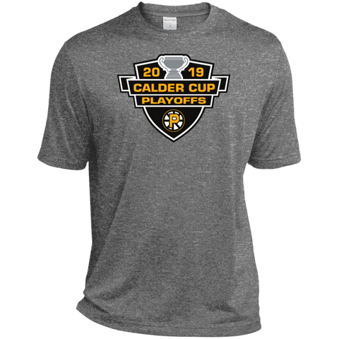 Providence Bruins 2019 Calder Cup Playoffs Adult Heather Dri-Fit Moisture-Wicking T-Shirt