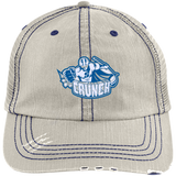Syracuse Crunch Distressed Unstructured Trucker Cap