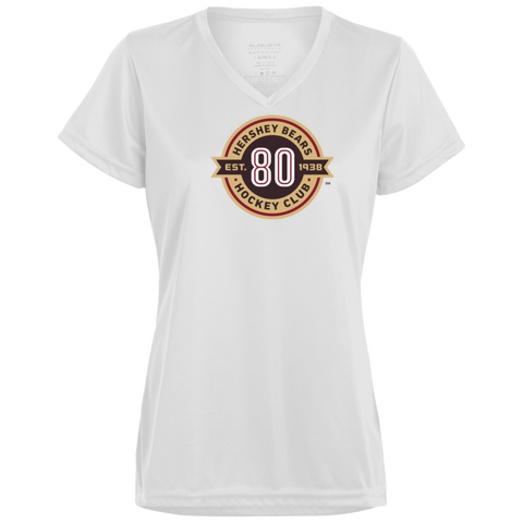 Hershey Bears 80th Anniversary Ladies' Wicking T-Shirt
