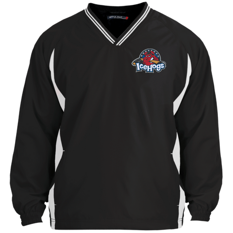 Rockford IceHogs Tipped V-Neck Windshirt