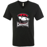 Charlotte Checkers Men's Next Level Triblend V-Neck Tee