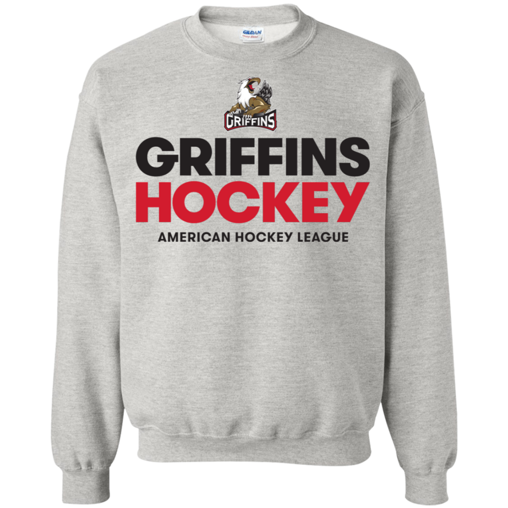 Grand Rapids Griffins Adult Crewneck Pullover Sweatshirt