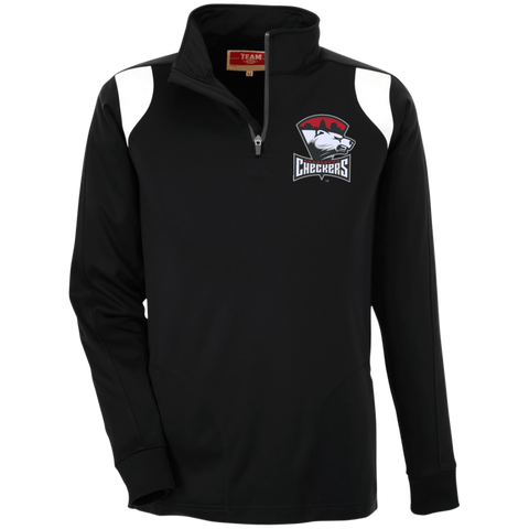 Charlotte Checkers Team 365 Performance Colorblock 1/4 Zip