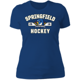 Springfield Thunderbirds Ladies' Established Next Level Short Sleeve T-Shirt