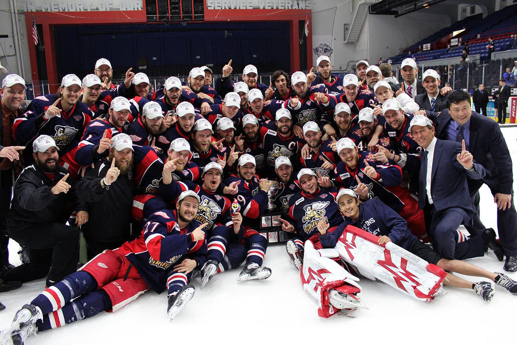 2013 Grand Rapids Griffins Calder Cup Champions Team Photo