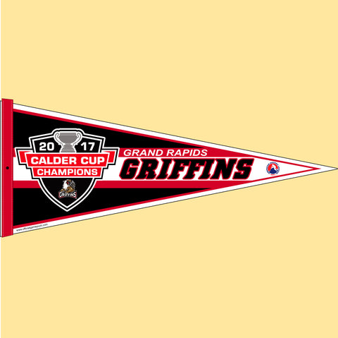 Grand Rapids Griffins 2017 Calder Cup Champions Pennant