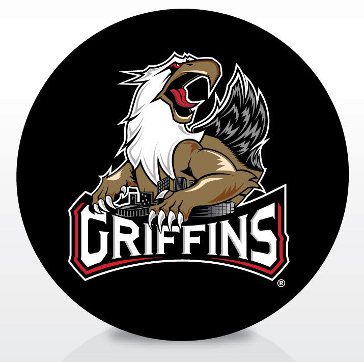 Grand Rapids Griffins Official Souvenir Puck (new logo)