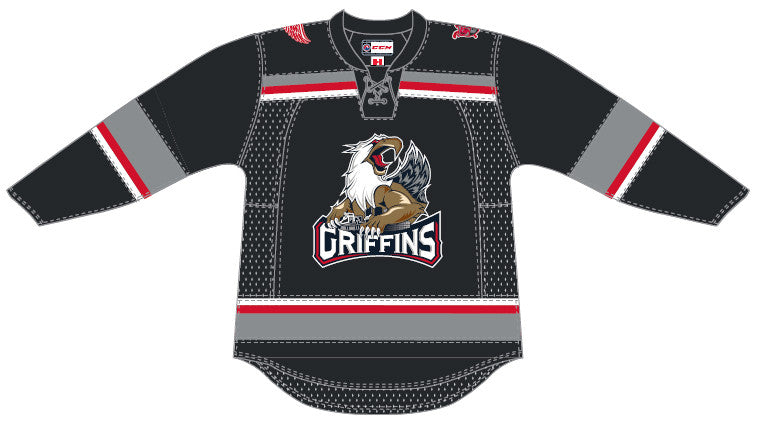 Reebok Grand Rapids Griffins Customized Premier Away Jersey
