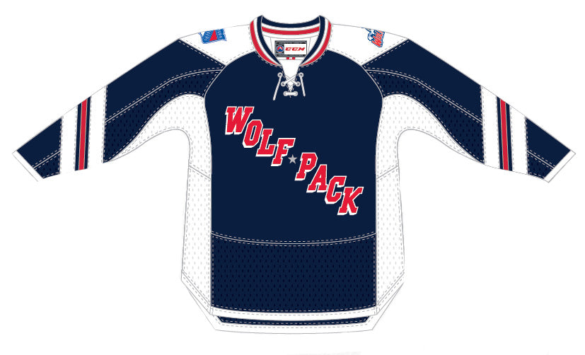 CCM Hartford Wolf Pack Premier Navy Jersey e5cf9fe7be8