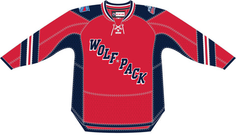 CCM Hartford Wolf Pack Premier Red Third Jersey