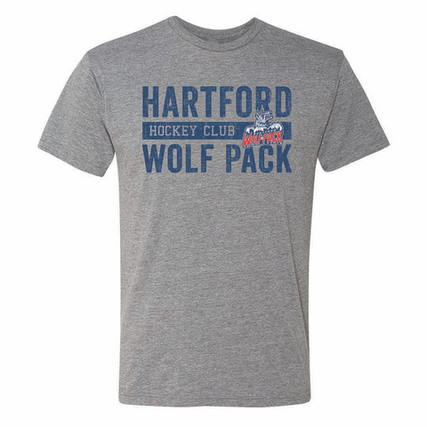 108 Stitches Hartford Wolf Pack Hockey Club Adult Short Sleeve T-Shirt