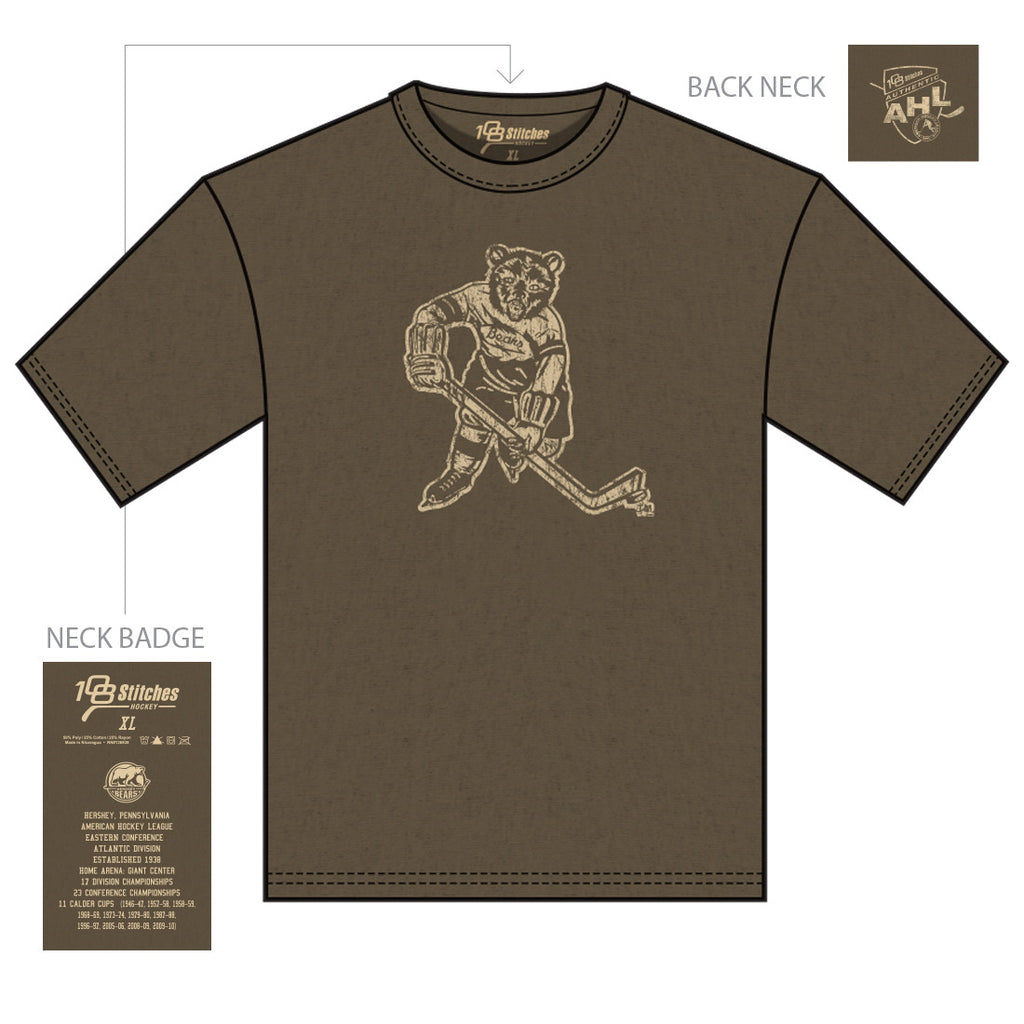 108 Stitches Hershey Bears Adult Vintage T-Shirt