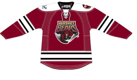 Reebok Hershey Bears Authentic Pro Away Jersey