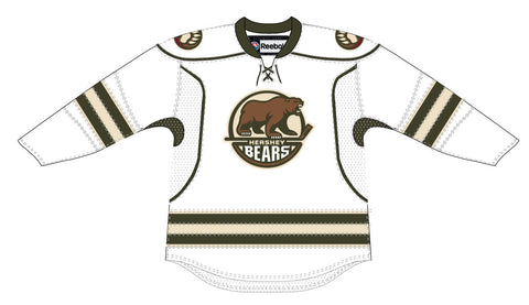 CCM Edge Hershey Bears Adult Premier White Jersey