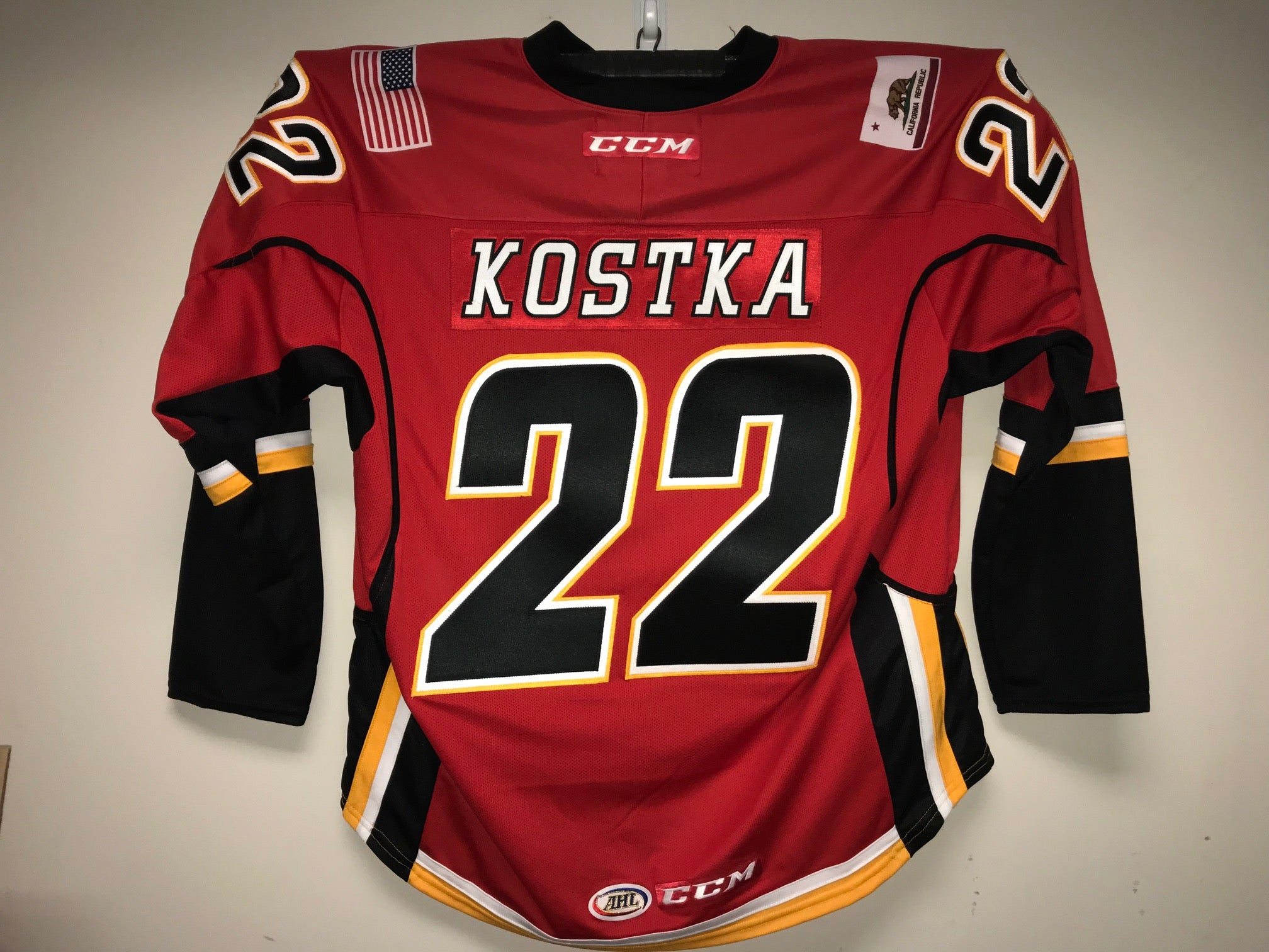 dac1f9bb1 Mike Kostka Stockton Heat Customized Red Jersey – ahlstore.com