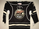 Jonas Siegenthaler Hershey Bears Customized Brown Jersey