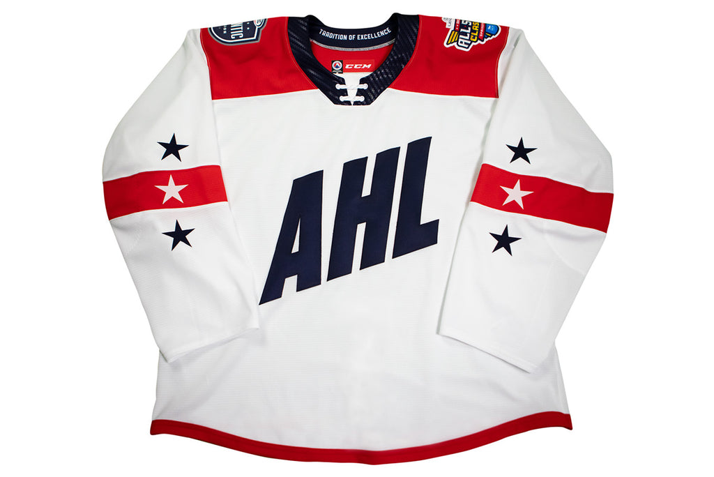 CCM Quicklite 2019 AHL All-Star Atlantic Division Customized Premier White Jersey