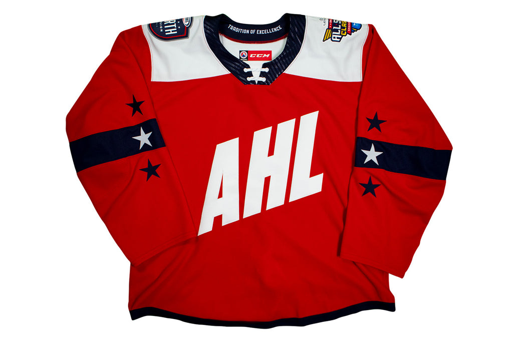 CCM Quicklite 2019 AHL All-Star North Division Authentic Red Jersey