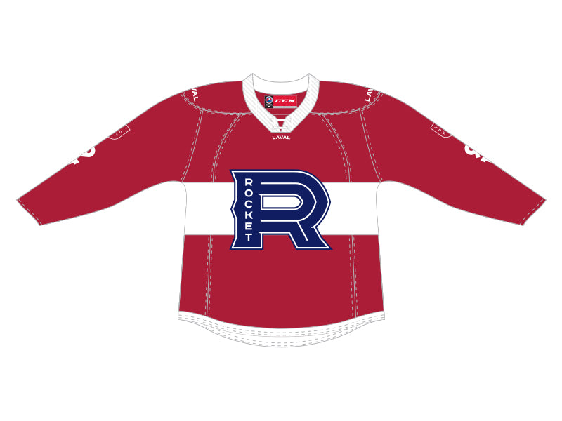 CCM Quicklite Laval Rocket Adult Premier Red Jersey