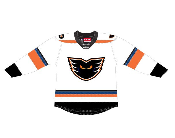 CCM Quicklite Lehigh Valley Phantoms Premier White Jersey