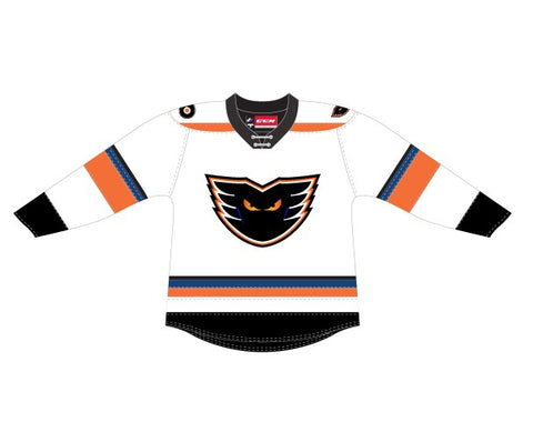 CCM Quicklite Lehigh Valley Phantoms Customized Premier White Jersey