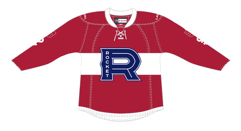 CCM Edge Laval Rocket Adult Premier Red Jersey