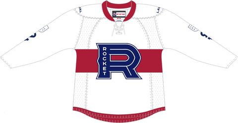 CCM Laval Rocket Customized Premier White Jersey