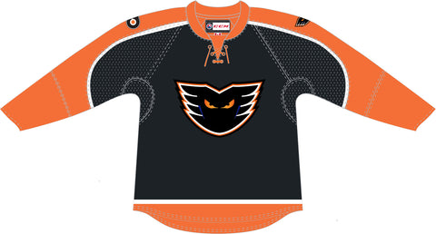 CCM Quicklite Lehigh Valley Phantoms Premier Black Jersey