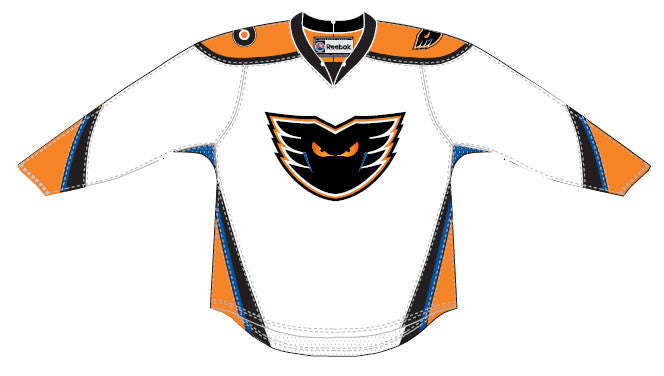 CCM Edge Lehigh Valley Phantoms Customized Premier White Jersey