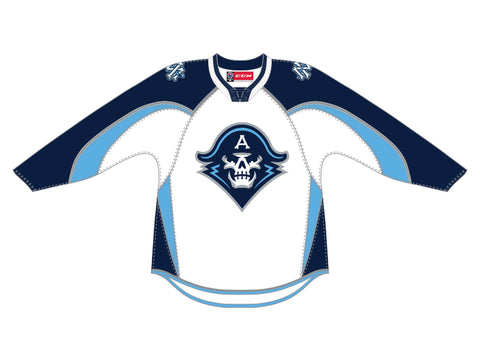 CCM Quicklite Milwaukee Admirals Customized Premier White Jersey