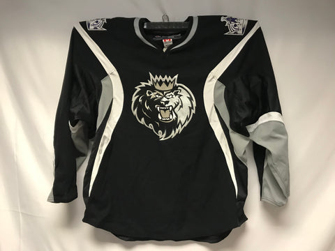 Reebok Manchester Monarchs Authentic Jersey - Black