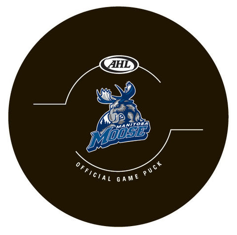 Manitoba Moose Official Game Puck