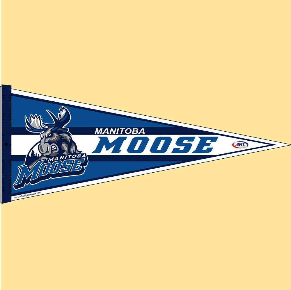Manitoba Moose Team Pennant