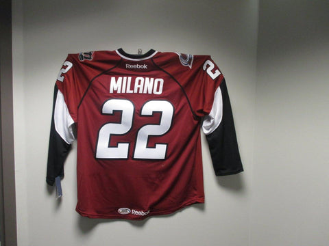 #22 Sonny Milano Lake Erie Monsters Customized Home Jersey (CLEARANCE)