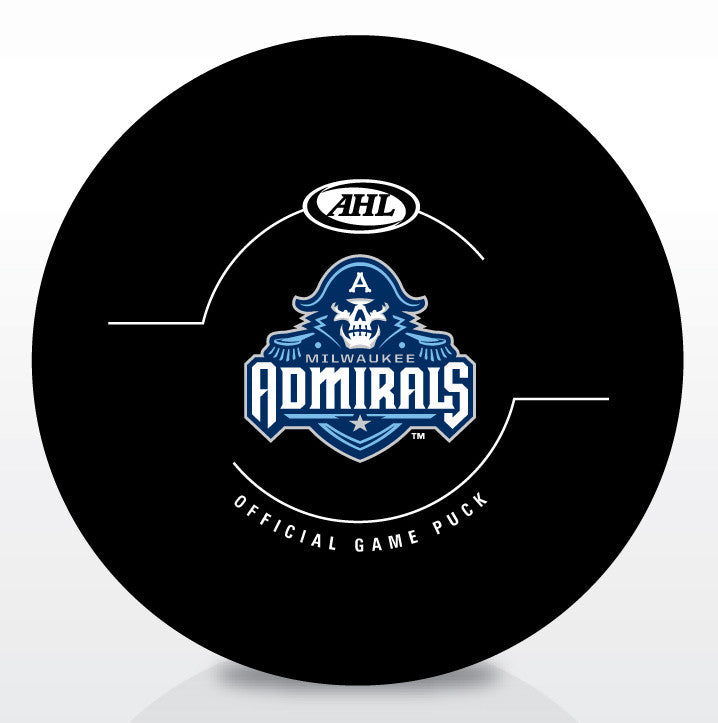 Milwaukee Admirals Official Game Puck