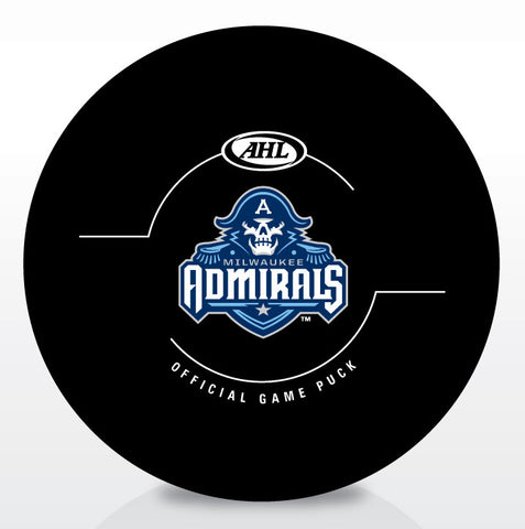 Milwaukee Admirals Official Game Puck 2015-2016