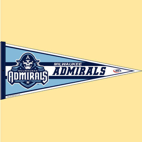 Milwaukee Admirals Team Pennant